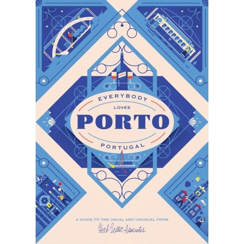 Herb Lester Associates Everybody Loves Porto - Travel Guide Map