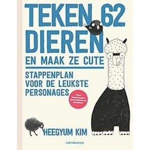 Teken 62 dieren en maak ze cute