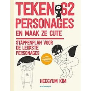 Teken 62 personages en maak ze cute