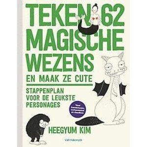 Teken 62 magische wezens en maak ze cute