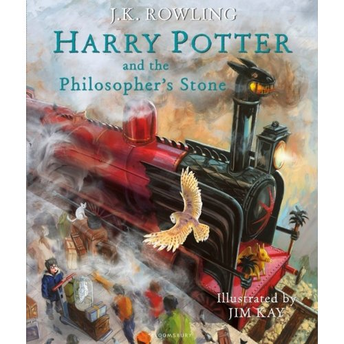 J.K. Rowling Harry Potter and the Philosopher's Stone - Illustrated Edition