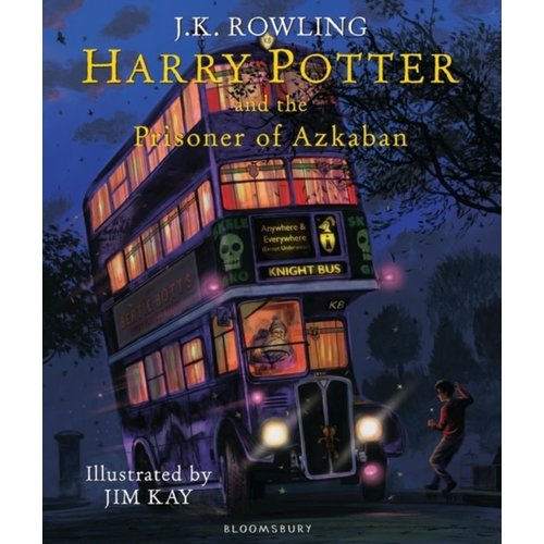 J.K. Rowling Harry Potter and the Prisoner of Azkaban - Illustrated Edition