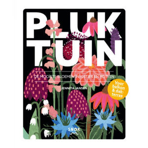 Jennita Jansen Pluktuin de mooiste bloemen in kistjes en potten