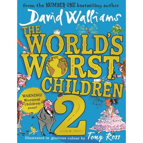 David Walliams The World's Worst Children 2
