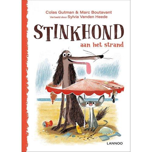 Colas Gutman Stinkhond aan het strand