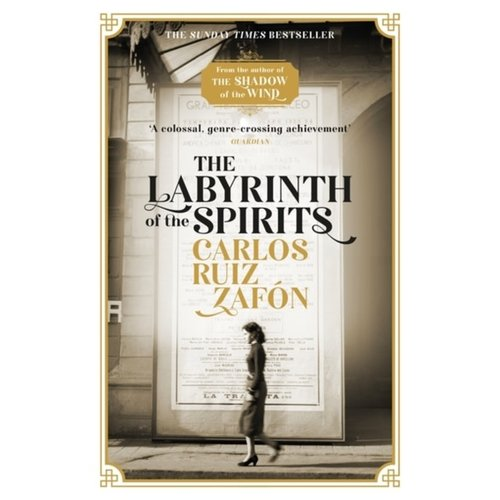 Carlos Ruiz Zafon The Labyrinth of the Spirits