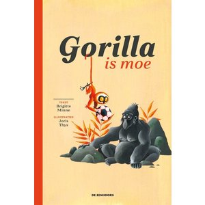 Brigitte Minne Gorilla is moe