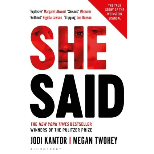 Jodi Kantor She Said: The True Story of the Weinstein Scandal