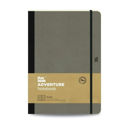 Flexbook Adventure / Elephant / Ruled / Large