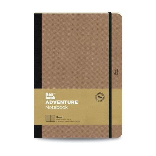 Flexbook Adventure / Camel / Ruled / Large