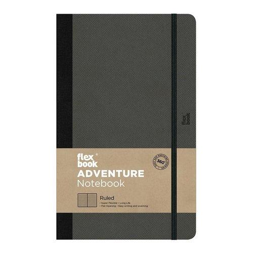 Flexbook Adventure / Off-Black / Ruled / Medium