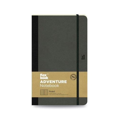 Flexbook Adventure / Off-Black / Ruled / Pocket