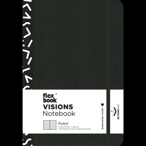 Flexbook Visions / Off-Black / Ruled / Pocket