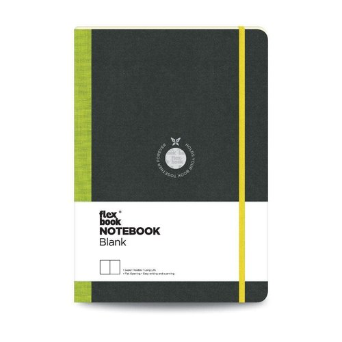 Flexbook Visions / Lime Green / Blank / Large