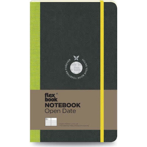 Flexbook Visions / Lime Green / Open Date / Large