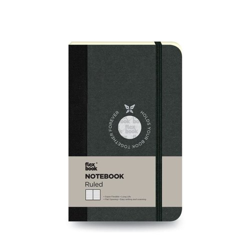 Flexbook Visions / Black / Ruled  / Pocket