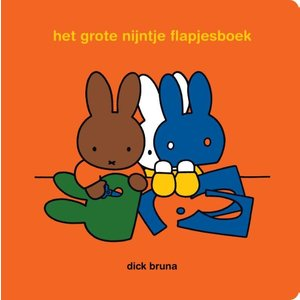 Dick Bruna Het grote Nijntje flapjesboek