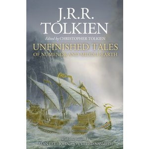 J.R.R. Tolkien Unfinished Tales of Numenor and Middle-Earth