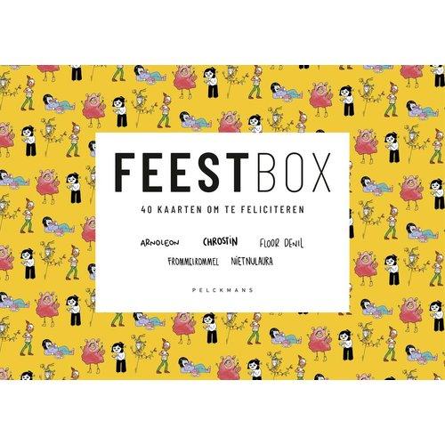 Gesigneerd: FEESTbox: 40 kaarten om te feliciteren