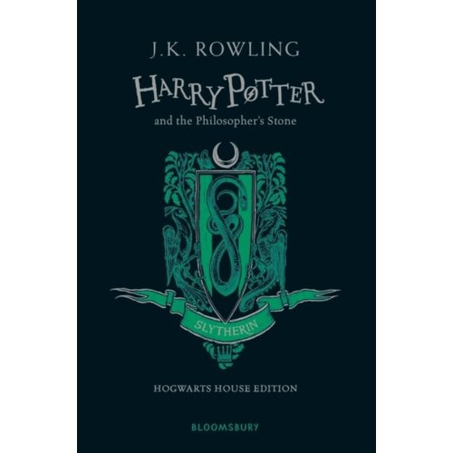 J.K. Rowling Harry Potter and the Philosopher's Stone - Slytherin Edition