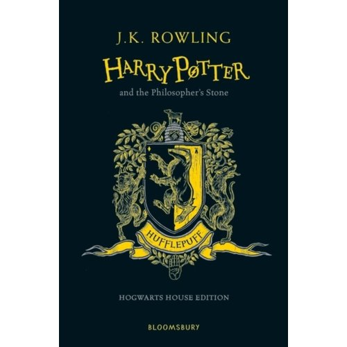 J.K. Rowling Harry Potter and the Philosopher's Stone - Hufflepuff Edition