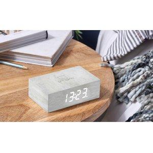 Flip Click Clock - White Birch