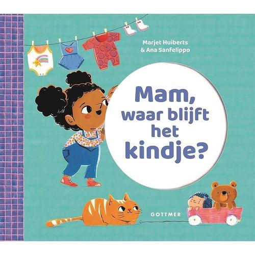 Marjet Huiberts Mam, waar blijft het kindje?