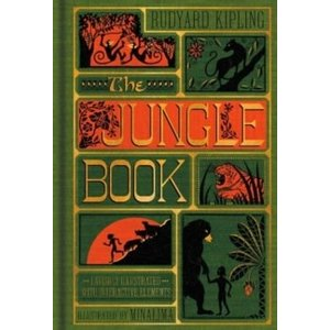 Rudyard Kipling The Jungle Book (MinaLima Edition) (Illustrated with Interactive Elements)