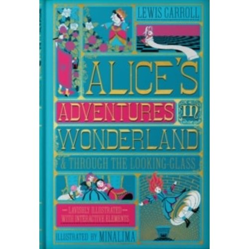Lewis Carroll Alice's Adventures in Wonderland (MinaLima Edition) : (Illustrated with Interactive Elements)