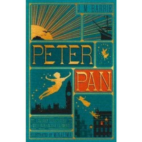 J.M. Barrie Peter Pan (MinaLima Edition) (lllustrated with Interactive Elements)