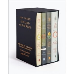 J.R.R. Tolkien The Lord of the Rings Boxed Set (Classic Hardback)