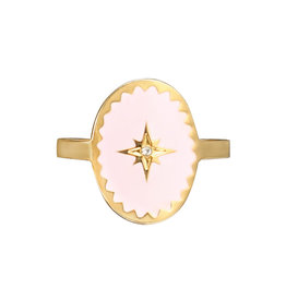 Ring Milord pink