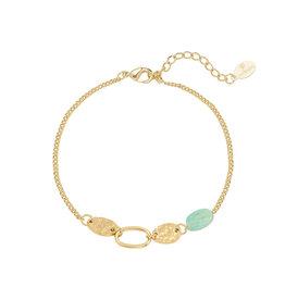 Bracelet Calla green