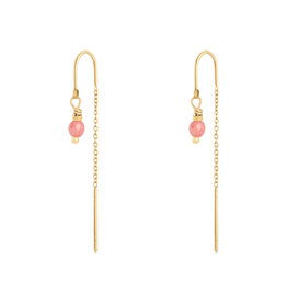 Earring admiral pale pink