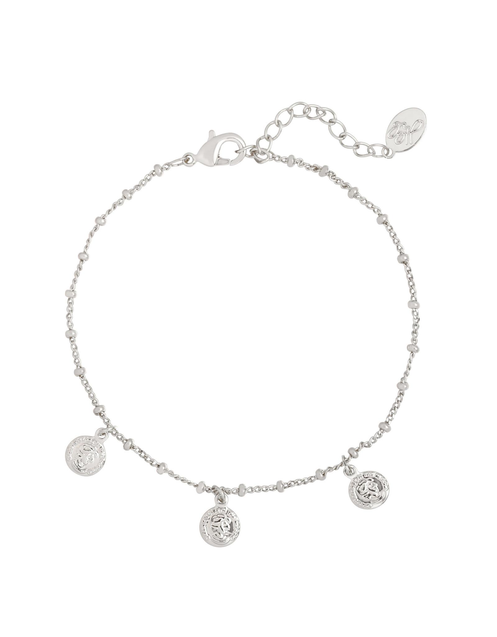 Bracelet cute coin silver