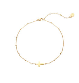 Bracelet cross gold