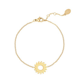 Bracelet swirl gold