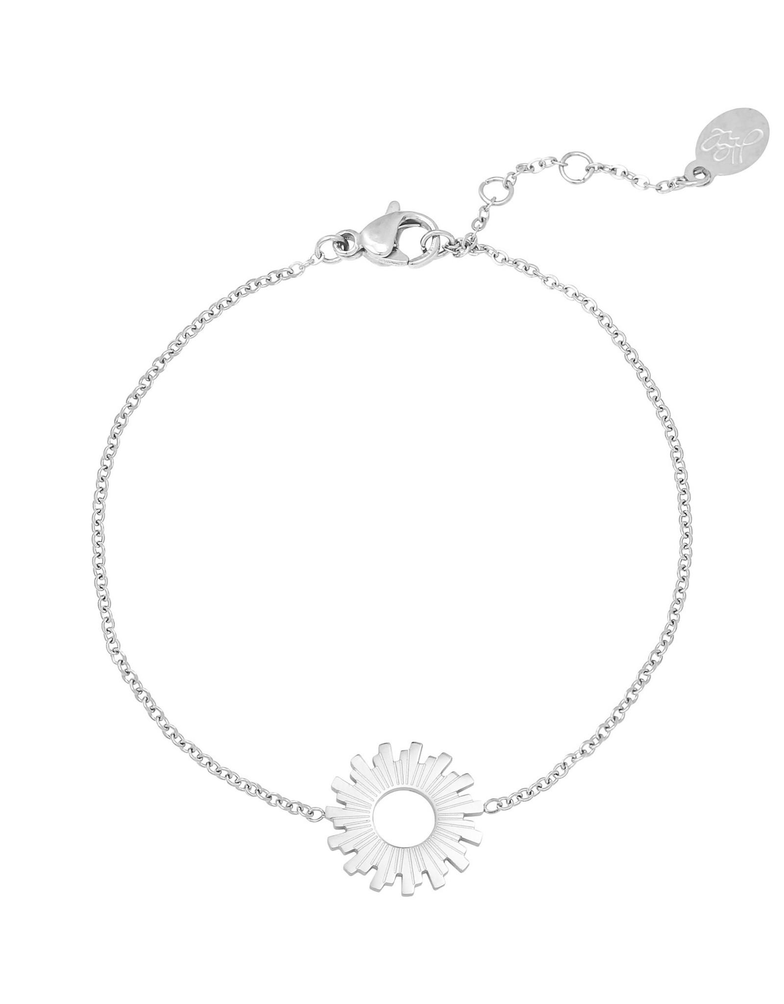 Bracelet swirl silver