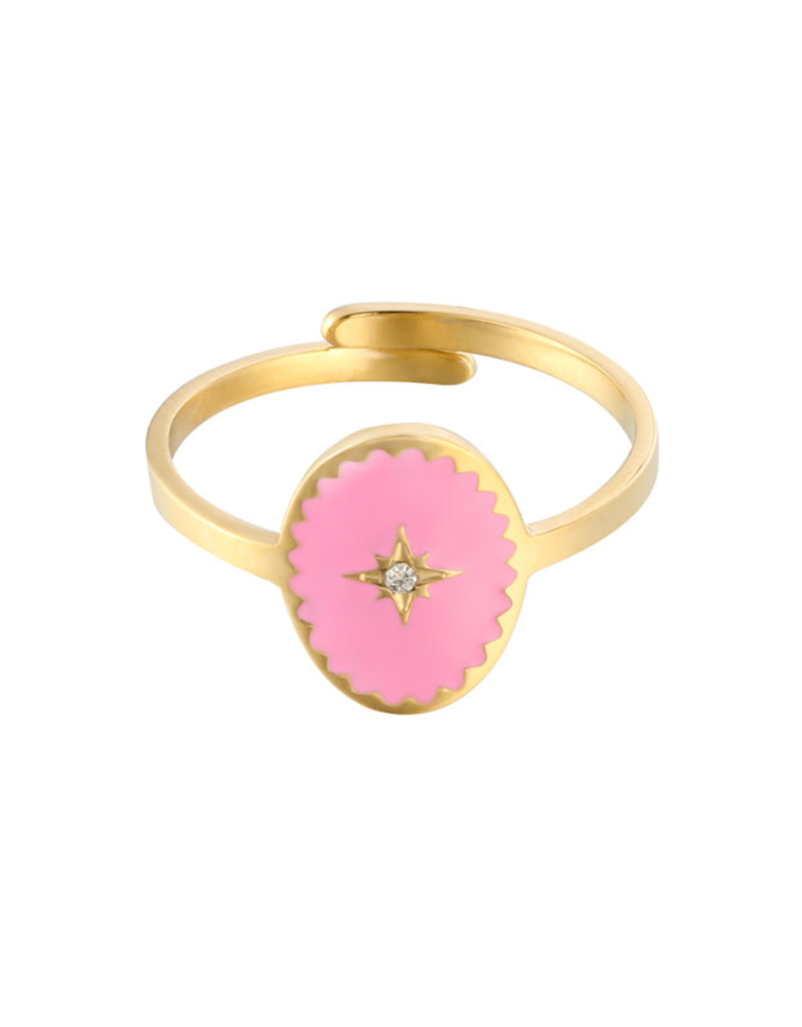 Ring Lollipop pink