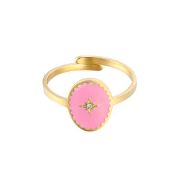 Ring Lollipop pink