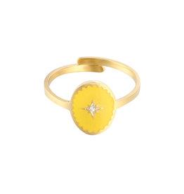 Ring Lollipop yellow