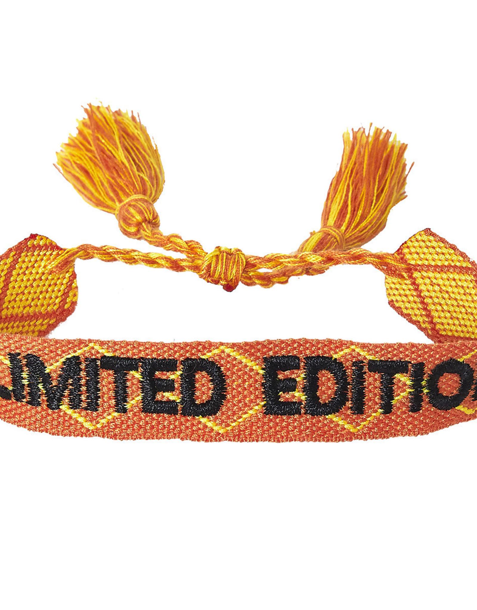 """Bracelet """"Limited Edition"""" orange"""