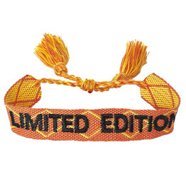 "Bracelet ""Limited Edition"" orange"