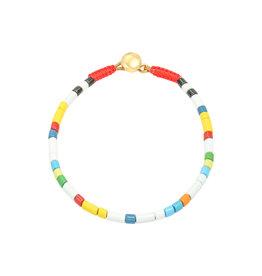 Bracelet metal beads  small