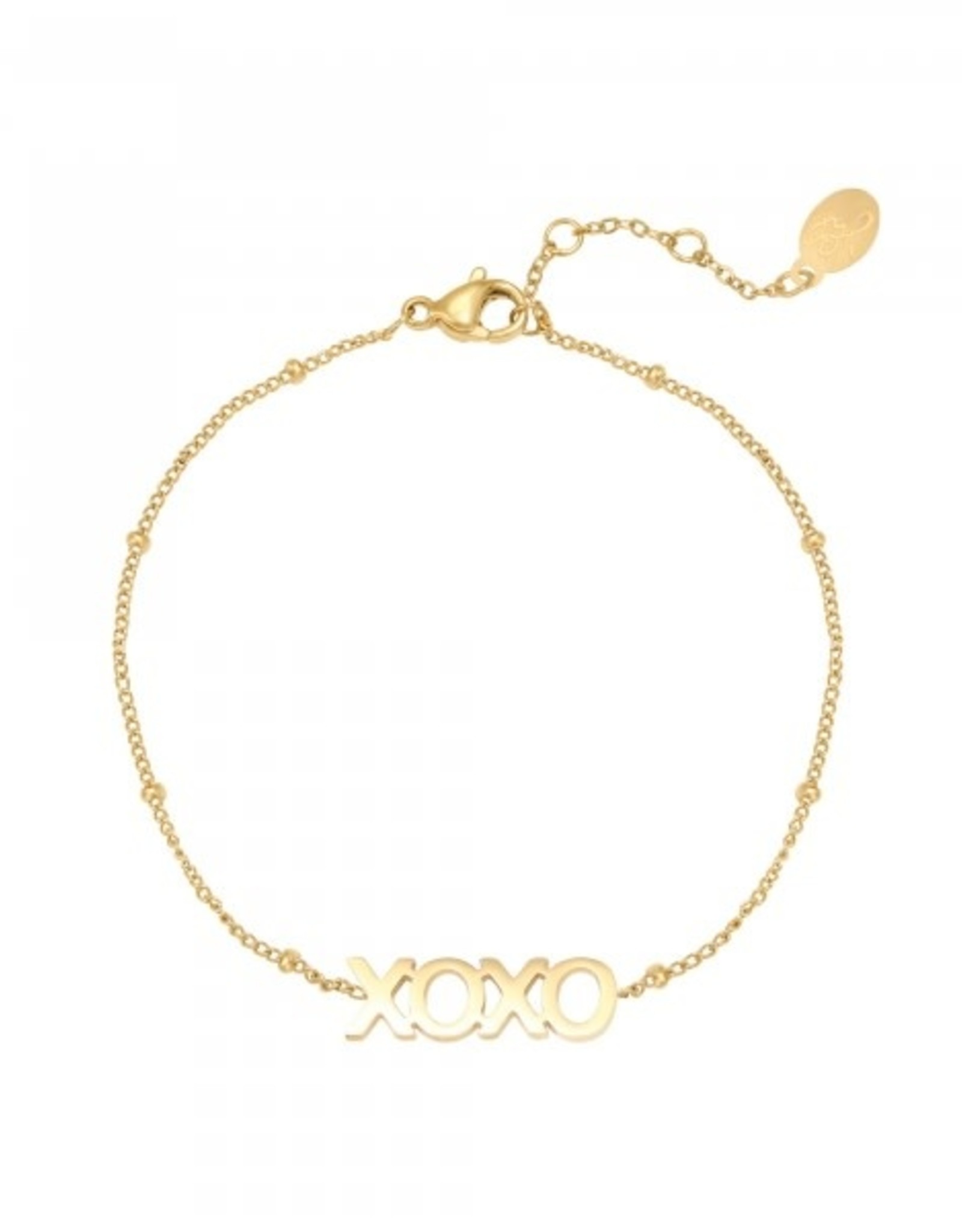Bracelet XOXO gold