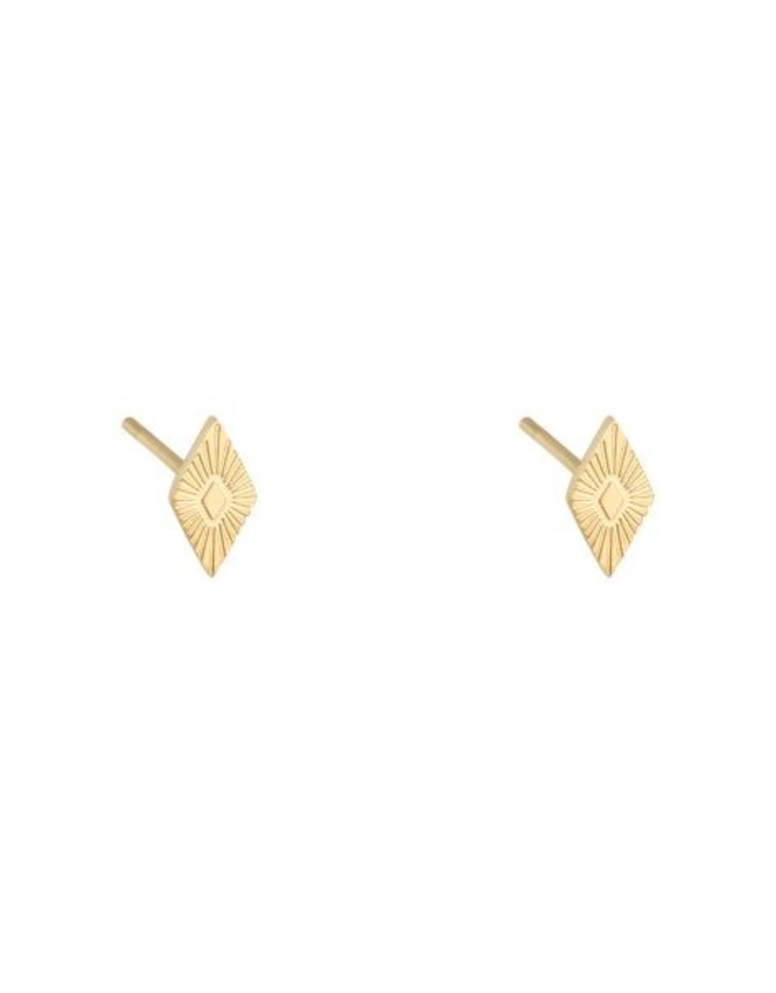 Earrings small diamond