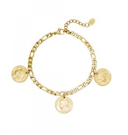 Bracelet ancient coinage gold