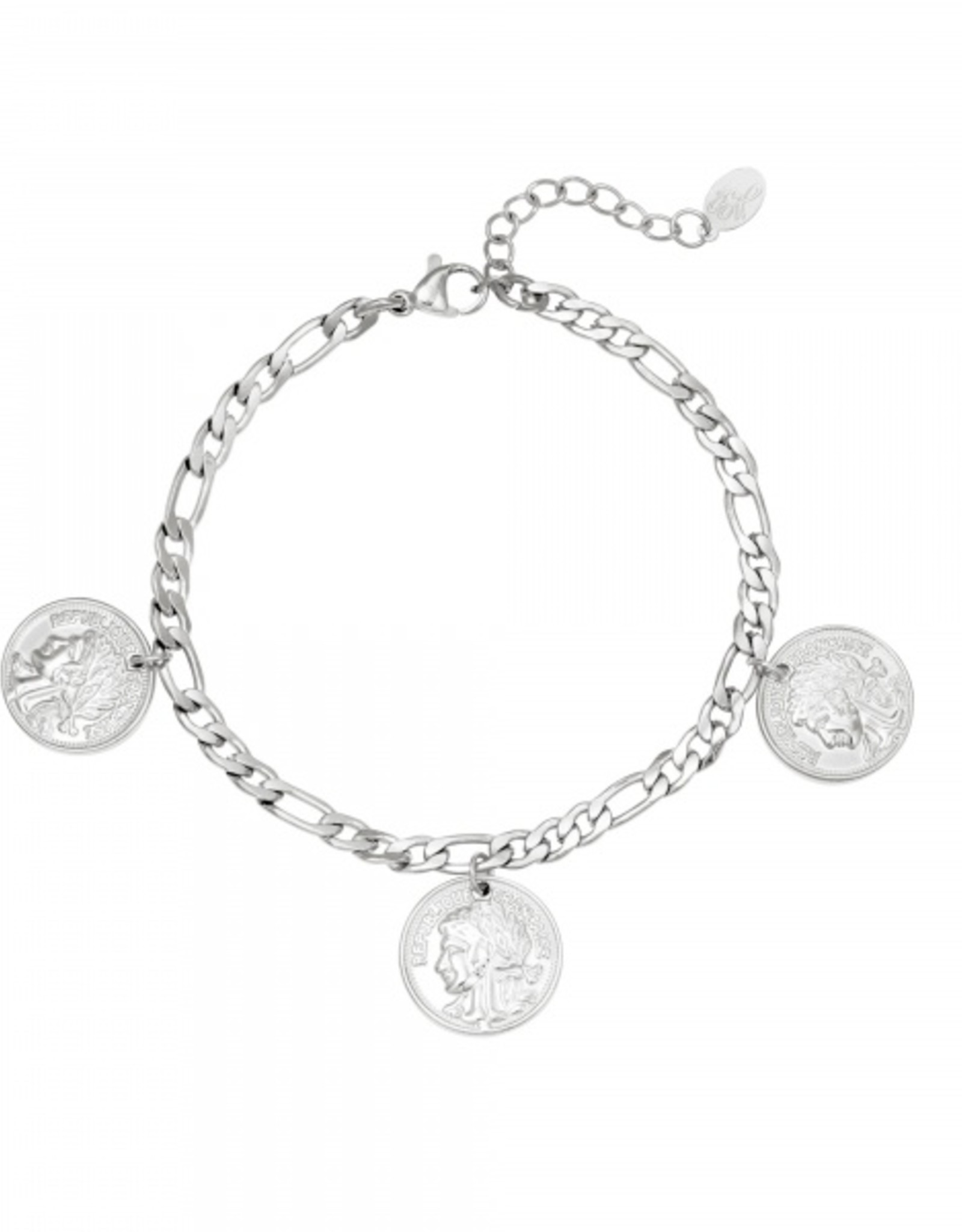 Bracelet ancient coinage silver