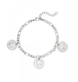 Bracelet ancient coinage silver