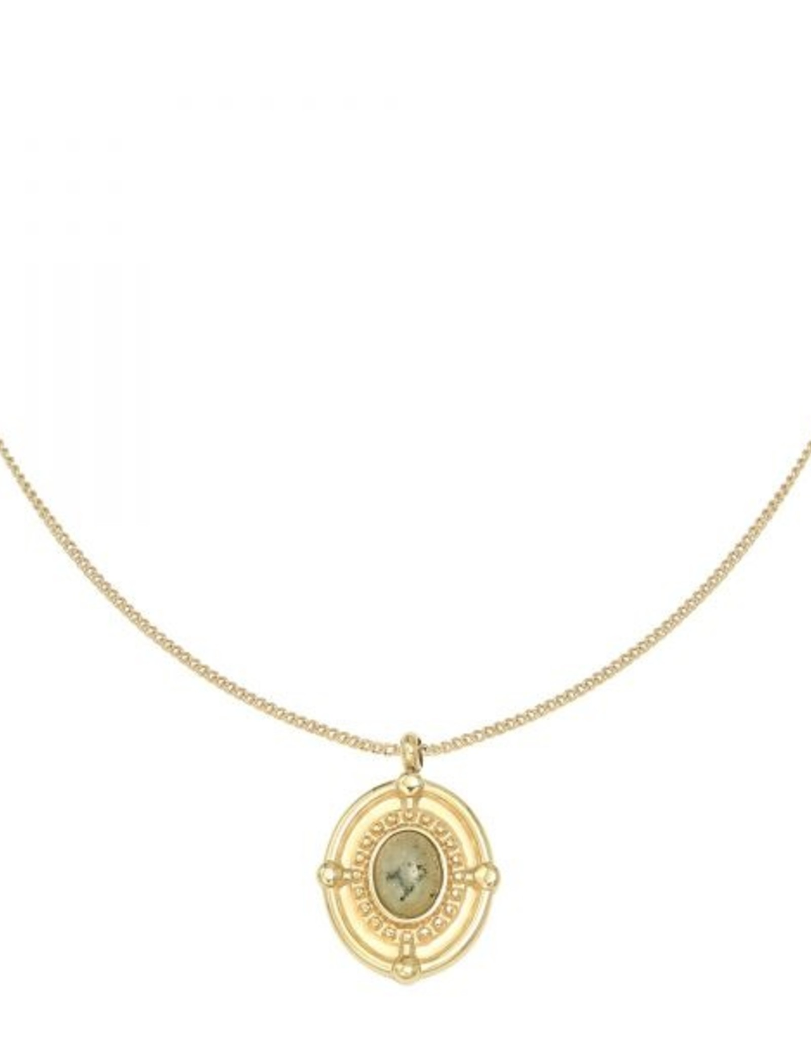 Necklace mystic night gold